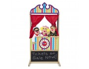Melissa & Doug Deluxe Puppet Theater - Sturdy Wooden Construction Free Shipping