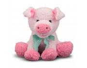 Melissa & Doug Meadow Medley Piggy - Stuffed Animal With Sound Effect Free Shipping