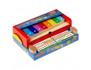 Melissa & Doug Learn-to-Play Xylophone Free Shipping