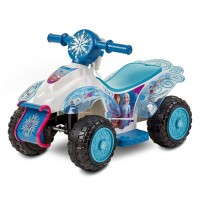 Frozen 2 Kid Trax Sing and Ride Toddler 6V Quad - White Free Shipping