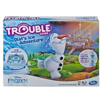Trouble Disney Frozen Olaf's Ice Adventure Game Free Shipping