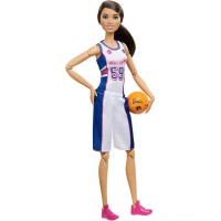 Barbie Made to Move Basketball Player Doll Free Shipping