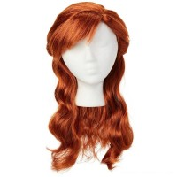 Disney Frozen 2 Anna Wig, Red Free Shipping