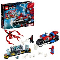 LEGO Super Heroes Marvel Spider-Man Bike Rescue 76113 Free Shipping