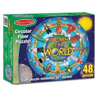 Melissa And Doug Children Of The World Jumbo Floor Puzzle 48pc Free Shipping