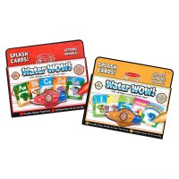 Melissa & Doug On the Go Water Wow Splash Cards, 2-Pack - Alphabet and Numbers and Colors Free Shipping