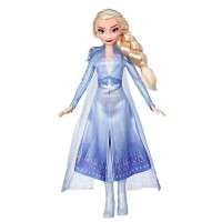 Disney Frozen 2 Elsa Fashion Doll With Long Blonde Hair and Blue Outfit Free Shipping