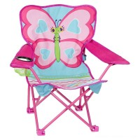 Melissa & Doug Sunny Patch Cutie Pie Butterfly Folding Lawn and Camping Chair Free Shipping