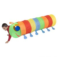 Melissa & Doug Sunny Patch Happy Giddy Crawl-Through Tunnel Free Shipping