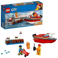 LEGO City Dock Side Fire 60213 Free Shipping