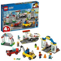 LEGO City Garage Center 60232 Building Kit for Kids 4+ with Toy Vehicle 234pc Free Shipping