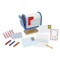 Melissa & Doug My Own Wooden Mailbox Activity Set and Educational Toy Free Shipping