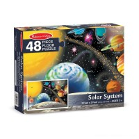 Melissa And Doug Solar System Floor Puzzle 48pc Free Shipping