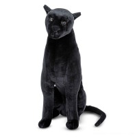 Melissa & Doug Giant Panther - Lifelike Stuffed Animal (nearly 3 feet tall) Free Shipping