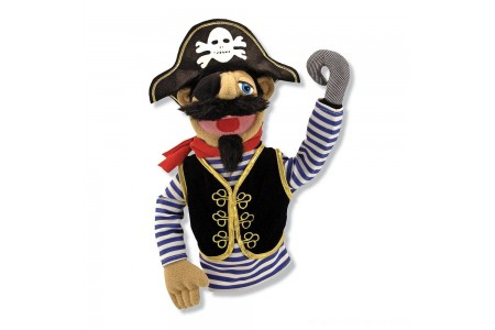 Melissa & Doug Pirate Puppet With Detachable Wooden Rod Free Shipping