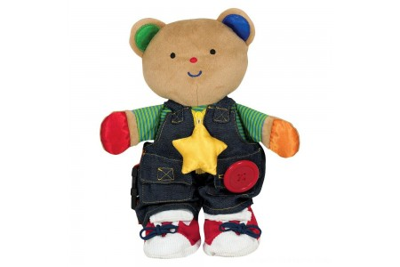 Melissa & Doug K's Kids - Teddy Wear Stuffed Bear Educational Toy Free Shipping