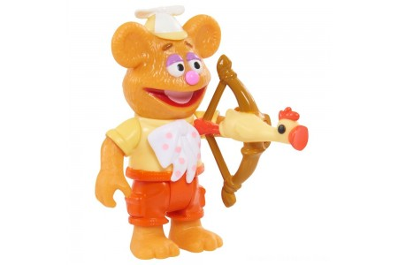 Disney Junior Muppet Babies Poseable Fozzie Free Shipping