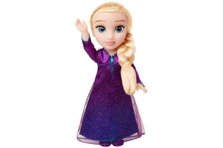 Disney Frozen 2 Into The Unknown Singing Feature Elsa Doll Free Shipping