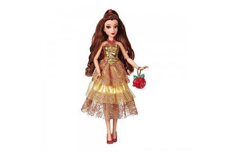 Black Friday 2020 Sale Disney Princess Style Series - Belle Doll in Contemporary Style with Purse & Shoes Free Shipping