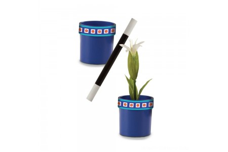 Melissa & Doug Magic in a Snap Magic Flower Pot and Wand Free Shipping