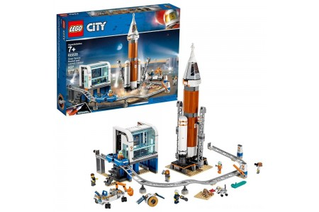 Black Friday 2020 Sale LEGO City Space Deep Space Rocket and Launch Control 60228 Model Rocket Building Kit with Minifigures Free Shipping