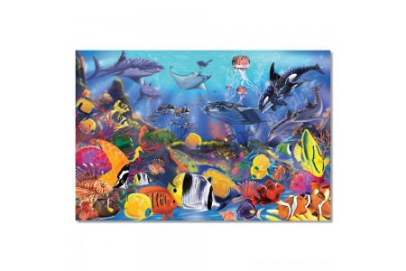 Black Friday 2020 Sale Melissa And Doug Underwater Ocean Floor Puzzle 48pc Free Shipping