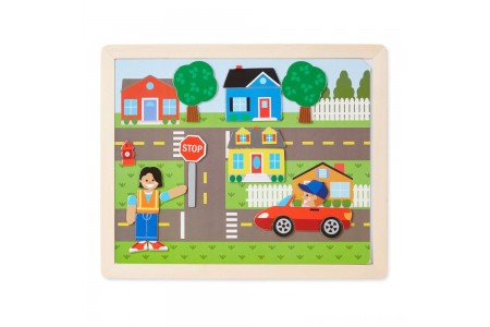 Melissa & Doug Magnetic Matching Picture Game 119pc Free Shipping