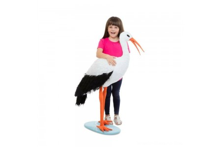 Melissa & Doug Stork, stuffed animals Free Shipping
