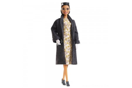 Barbie Signature Inspiring Women Series Rosa Parks Collector Doll Free Shipping