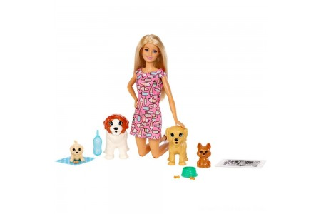 Black Friday 2020 Sale Barbie Doggy Daycare Doll & Pets Free Shipping