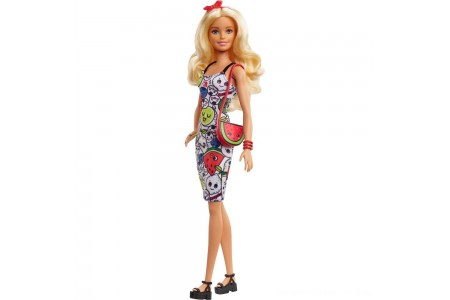 Barbie Crayola Color-in Fashions Doll & Fashions Free Shipping