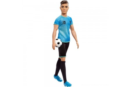 Barbie Ken Career Soccer Player Doll Free Shipping