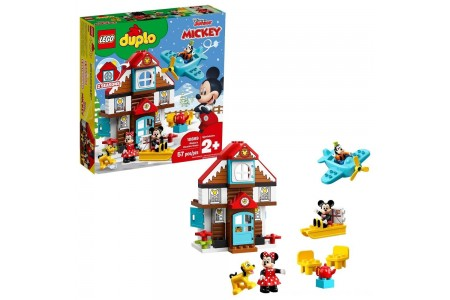 Black Friday 2020 Sale LEGO DUPLO Disney Mickey's Vacation House 10889 Toddler Building Set with Minnie Mouse Free Shipping