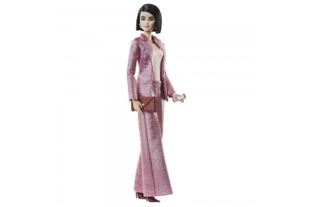 Barbie Signature Styled By Chriselle Lim Collector Doll in in Pink Pant Suit Free Shipping