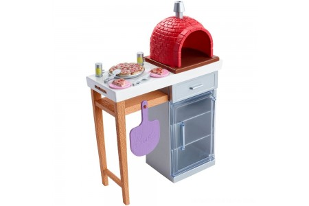 Black Friday 2020 Sale Barbie Brick Oven Accessory Free Shipping