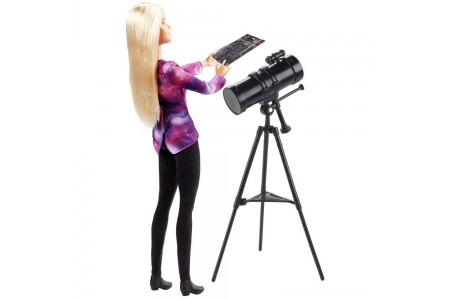 Barbie National Geographic Astronomer Playset Free Shipping