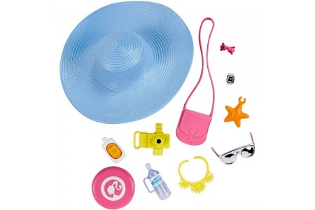 Barbie Fashion Sightseeing Accessory Pack Free Shipping