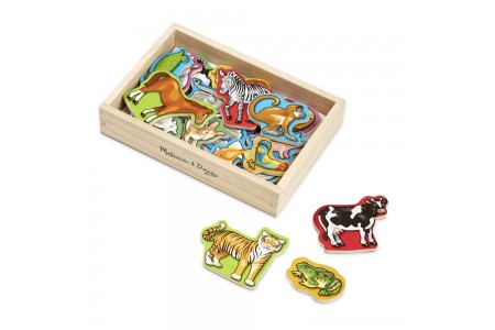 Black Friday 2020 Sale Melissa & Doug 20 Wooden Animal Magnets in a Box Free Shipping