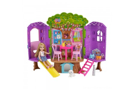 Barbie Chelsea Doll and Treehouse Playset Free Shipping