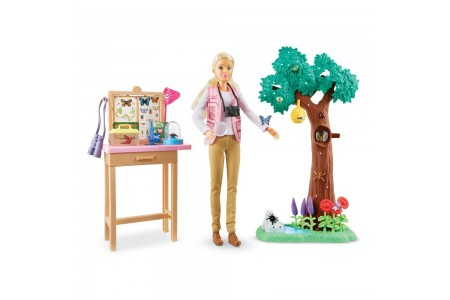 Black Friday 2020 Sale Barbie National Geographic Butterfly Scientist Playset Free Shipping