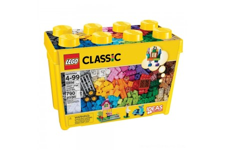 LEGO Classic Large Creative Brick Box 10698 Build Your Own Creative Toys, Kids Building Kit Free Shipping