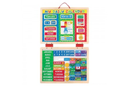 Melissa & Doug My First Daily Magnetic Calendar Free Shipping