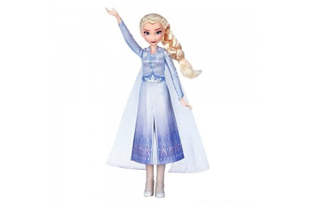 Black Friday 2020 Sale Disney Frozen 2 Singing Elsa Fashion Doll with Music - Blue Free Shipping