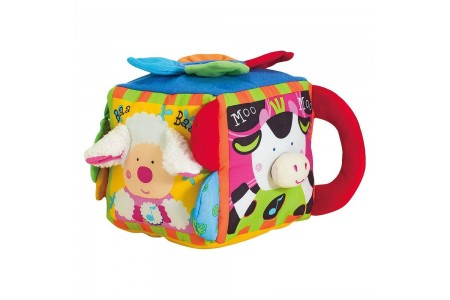 Melissa & Doug K's Kids Musical Farmyard Cube Educational Baby Toy Free Shipping