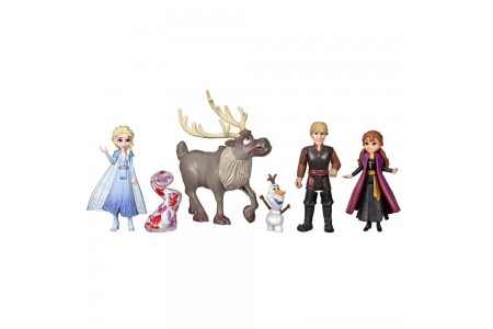 Black Friday 2020 Sale Disney Frozen 2 Adventure Collection, 5 Small Dolls from Frozen 2 Free Shipping