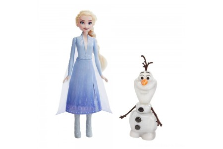 Black Friday 2020 Sale Disney Frozen 2 Talk and Glow Olaf and Elsa Dolls Free Shipping