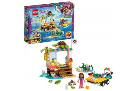 LEGO Friends Turtles Rescue Mission 41376 Building Kit Includes Toy Vehicle and Clinic 225pc Free Shipping