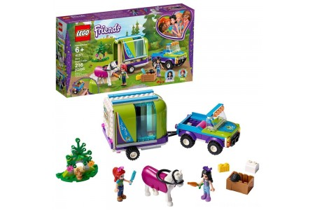LEGO Friends Mia's Horse Trailer 41371 Building Kit with Mia and Stephanie Mini Dolls 216pc Free Shipping