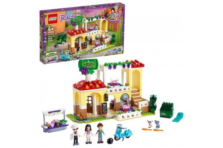 LEGO Friends Heartlake City Restaurant 41379 Building Kit with Restaurant Playset and Mini Dolls Free Shipping