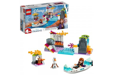 LEGO Disney Princess Frozen 2 Anna's Canoe Expedition 41165 Frozen Adventure Easy Building Kit 108pc Free Shipping